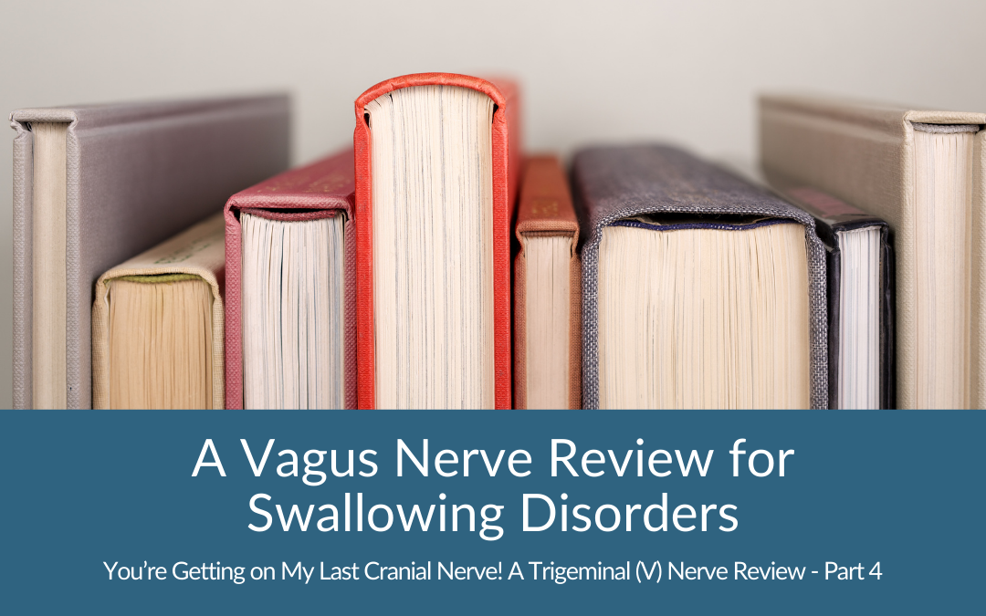 A Vagus Nerve Review for Swallowing Disorders (You're Getting on my Last Cranial Nerve Part 4)